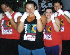 Exame de grau para preta da atleta Mariana Barcellos