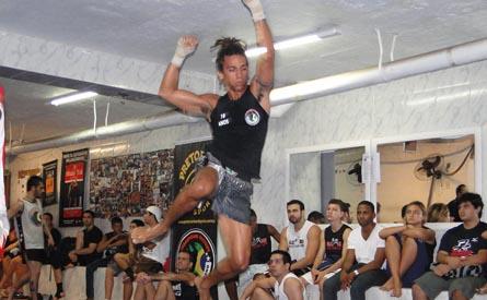 Bernardo Braga campeão Brasileiro de Muay Thai