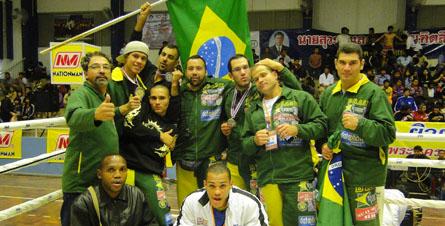 Brasil faz campeão mundial de Muay Thai