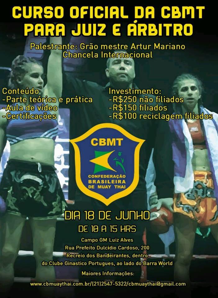 CBMT promove curso de arbitragem