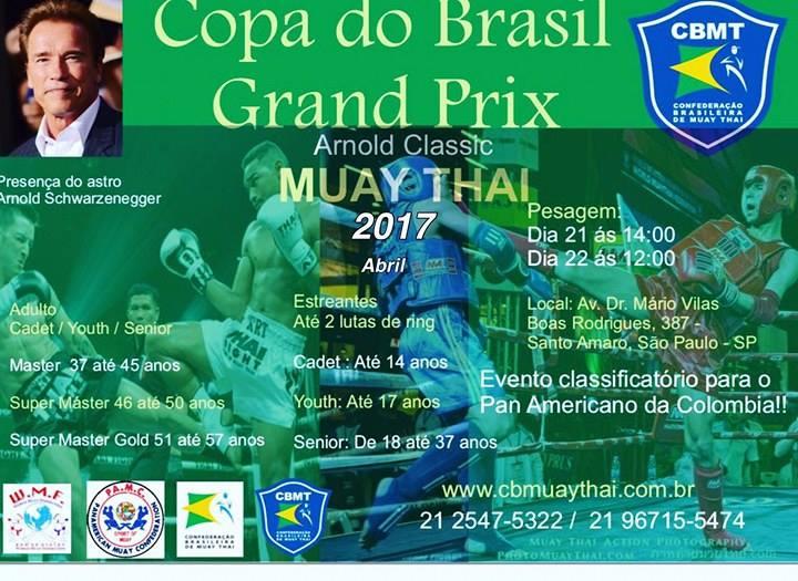 Regulamento Copa do Brasil de Muay Thai