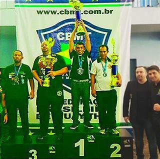 CF é Hexa Campeã de Muay Thai do Brasil